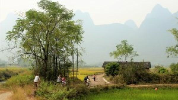 Fietsen omgeving Yanghsuo