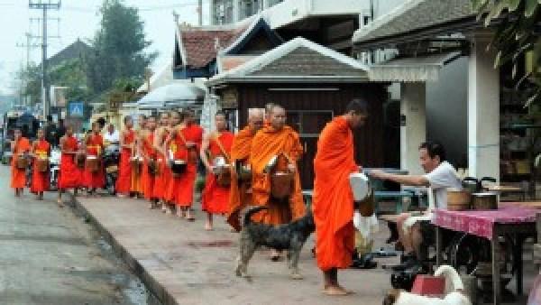 Alm ceremonie Luang Prabang