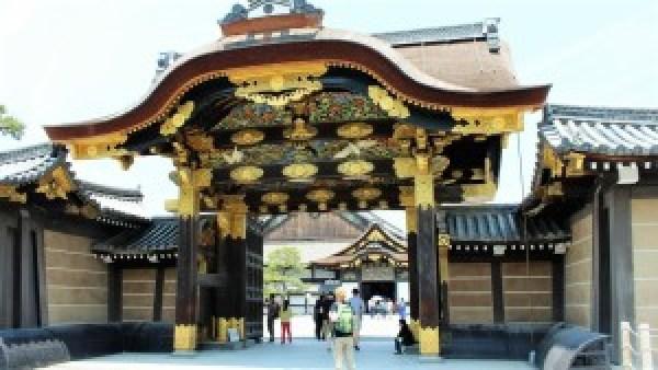 Kyoto Nishi Honganji temple Mark