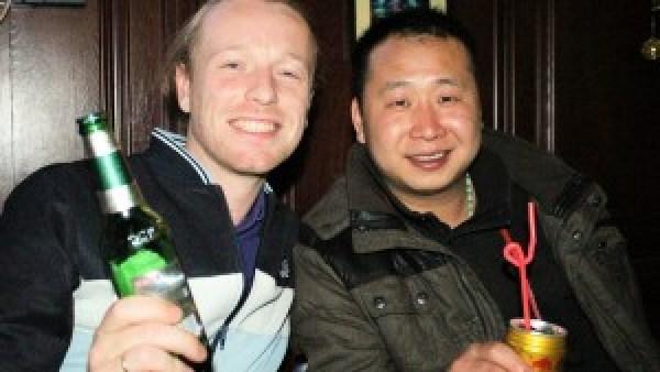 Mark en Lee