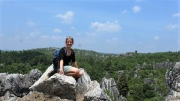 Leven als reisbegeleidster, Stone Forest Kunming