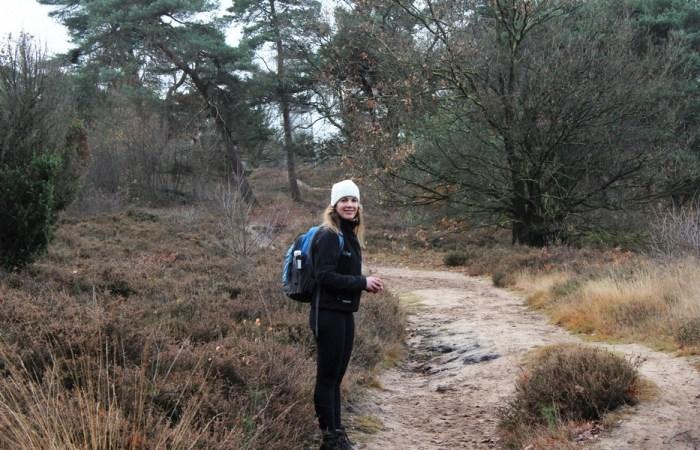 Paula Pieterpad wandelen in herfst