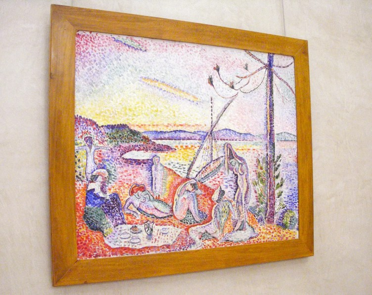 One of the paintings by Matisse