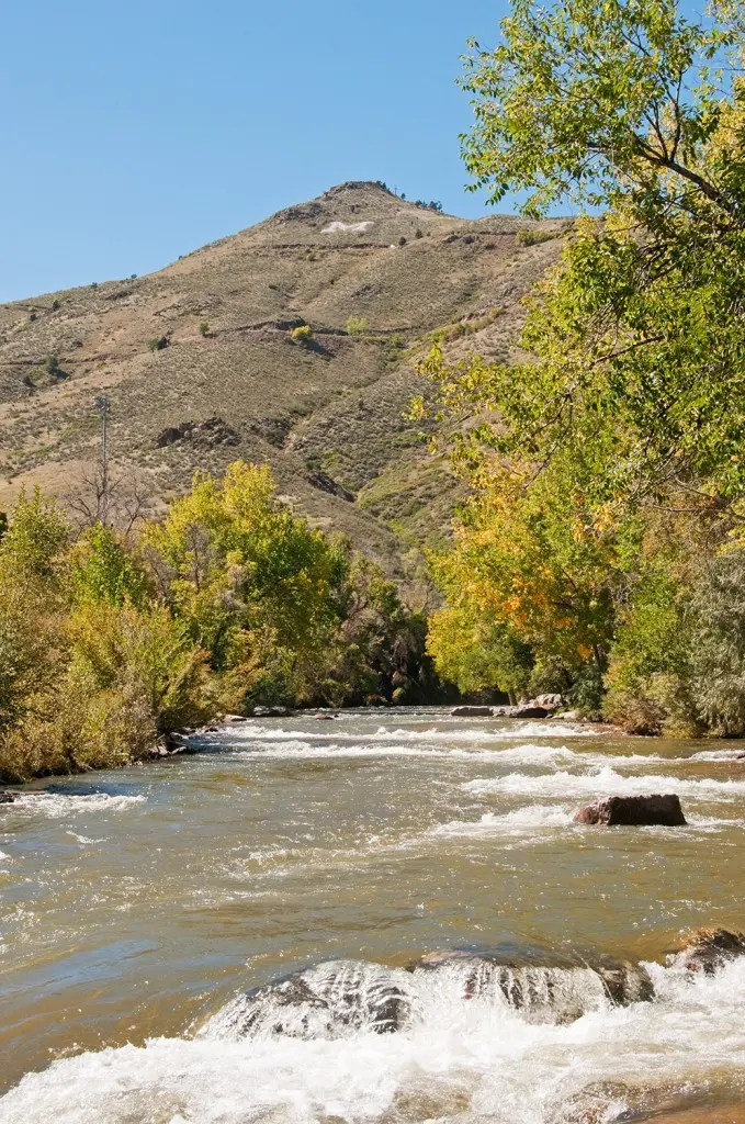 Lookout Mountain and Clear Creek