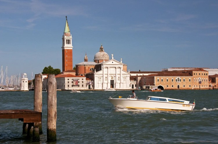View across the Grand Canal, Venice, Italy