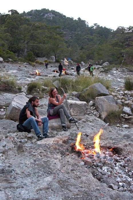 Flames of Chimaera, near ǂirali, Turkey