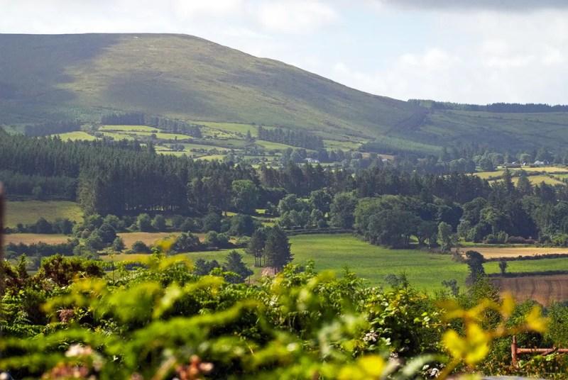Comeraugh Mountains near Hanora's Cottage