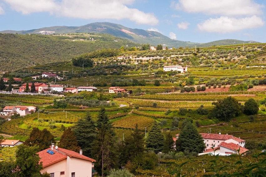 Hills surrounding Fumane, Italy