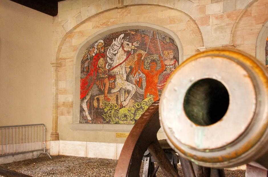 Mosaics in Old Town Geneva