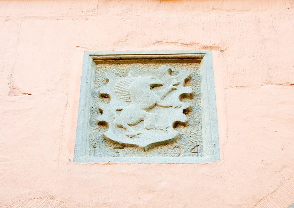 Detail on building - 1594