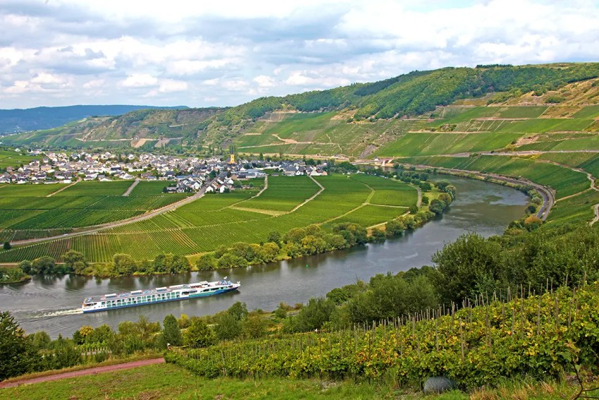 Moselle River, Germany