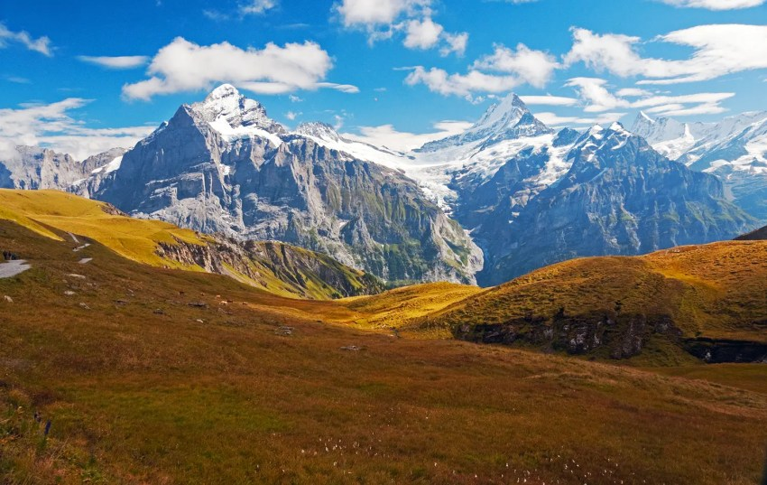Swiss Alps near Grindelwald, Switzerland