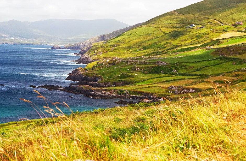 Coastline of Beara Peninsula, Ireland