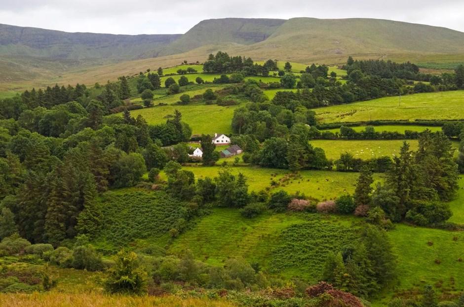Landscape near Ballymacarbry, County Waterford, Ireland