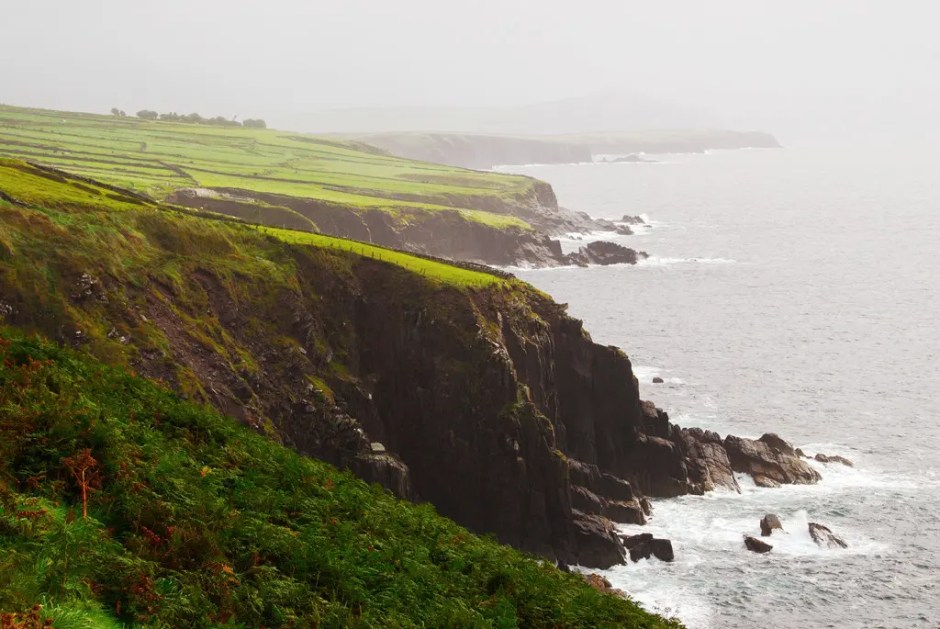 Cliffs of the Dingle Peninsula, County Kerry, Ireland