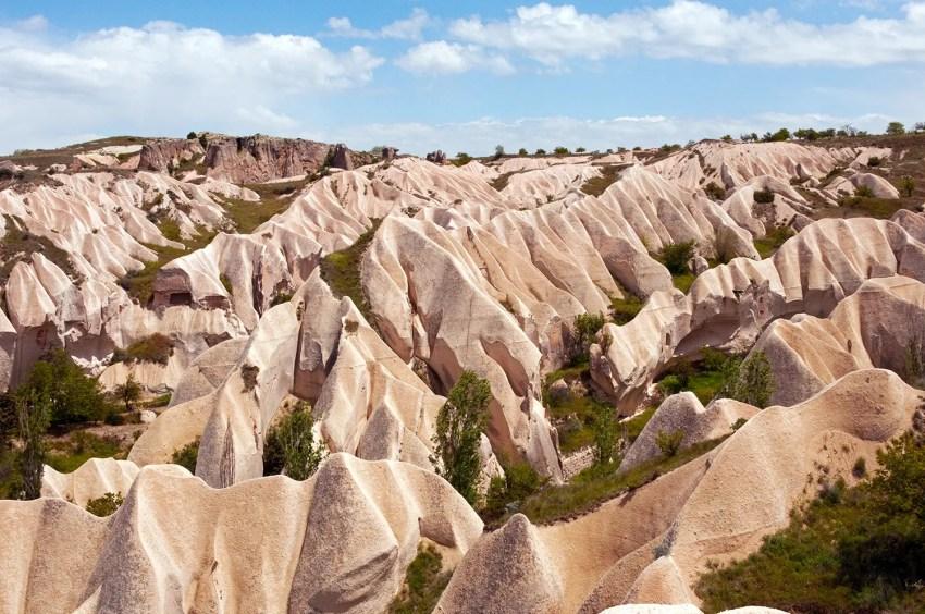 Rock formations of Cappadocia, Turkey