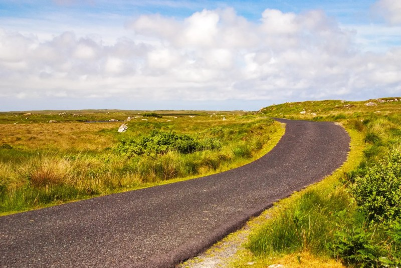 The Old Bog Road, Connemara, County Galway