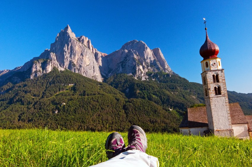 My favorite place to be - the Alpe di Suisi region of the Dolomites in northern Italy!!