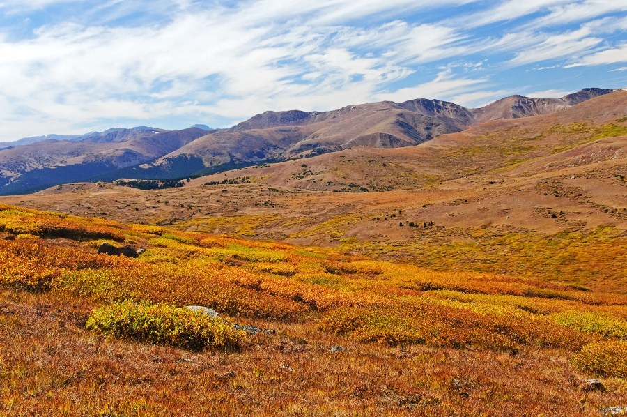 Views from the Mt Bierstadt trail, Colorado
