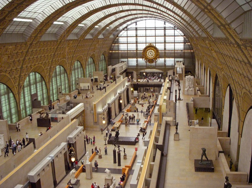Inside the Musée d'Orsay, Paris, France