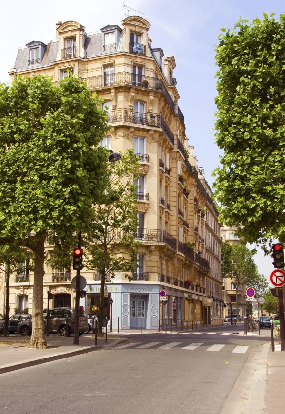 Street in Paris, France