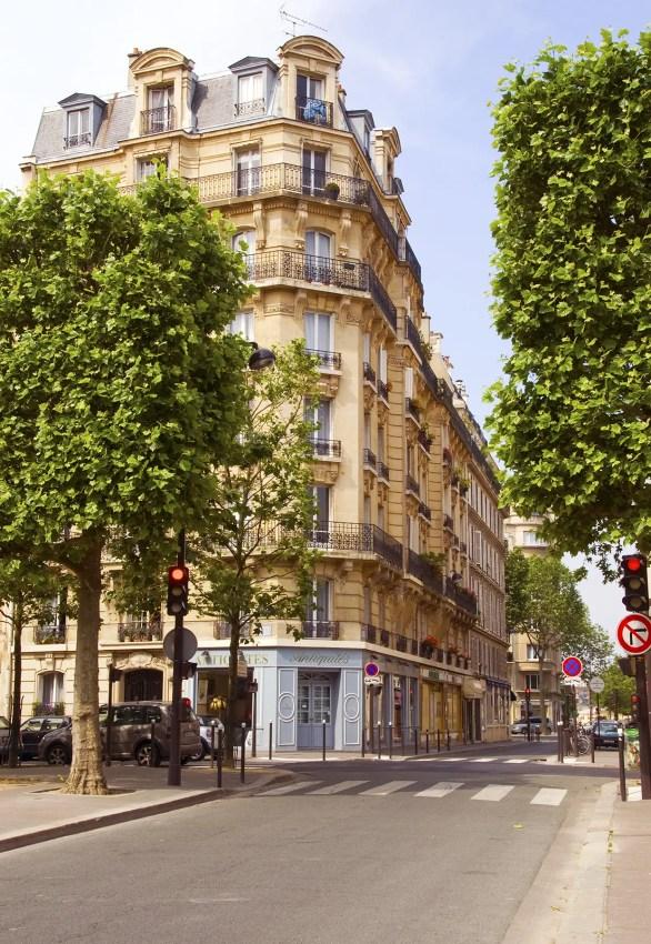 Street in Paris, France