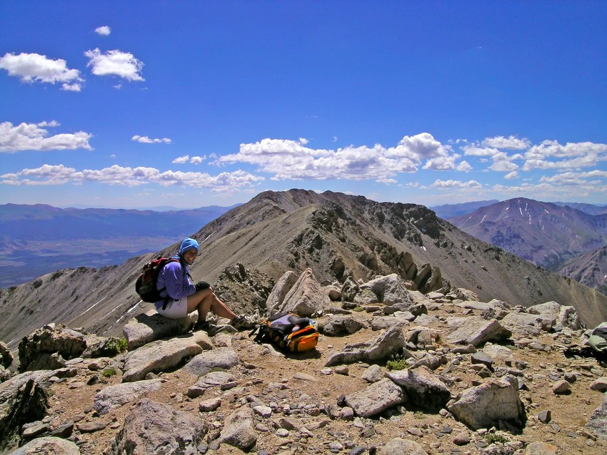 Hiking 14ers in Colorado