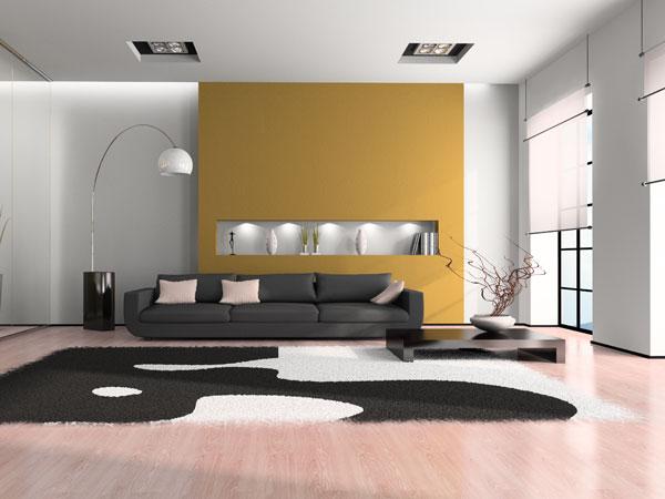 Wohnzimmer Vorwand Mit Deko Nische Home Interior Aussen