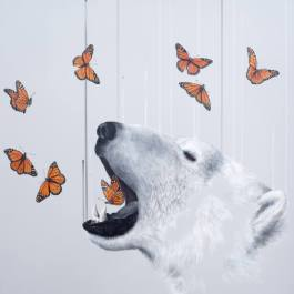 Exhale - 2:5 Artist Proof Printmaking by Louise McNaught