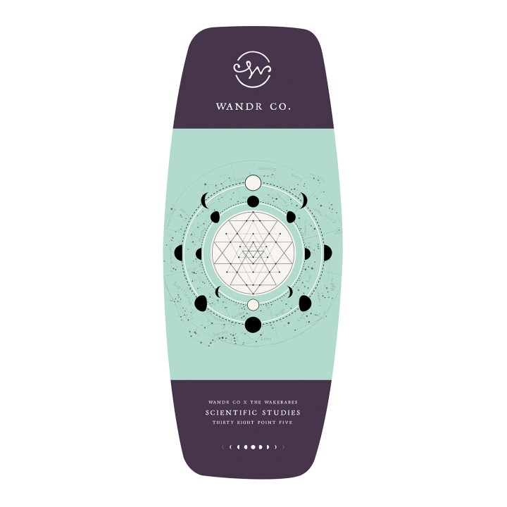 Wandr Co Moon Child Wakeskate