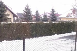 Andrychów - Święta Wielkanocne 2013 w zimowej scenerii