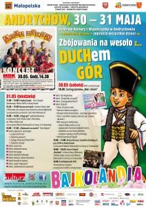 Program Bajkolandii 2015 w Andrychowie