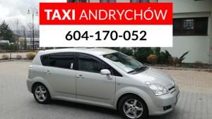 Zamów taksówkę w Andrychowie