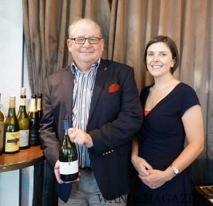 ボブ・キャンベルMWとニュージーランドワイングロワーズのナタリー
