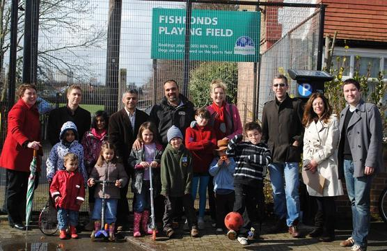 the launch of the fishponds campaign six years ago with the 3 Tooting cllrs and then MP Sadiq Khan