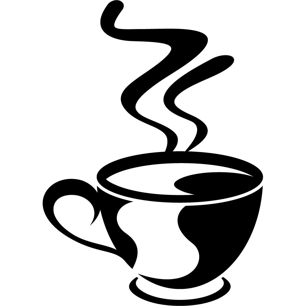 Wandtattoo Küche Kaffeetasse