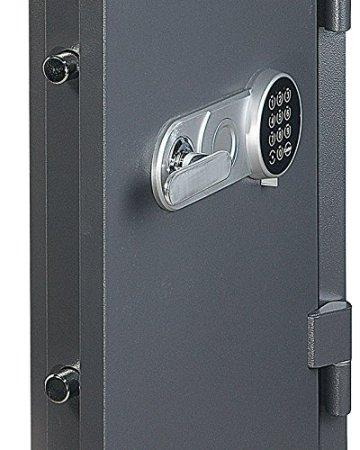 Profirst Versal Fire 65 Feuerschutztresor ECB S FS60P, feuerfester Dokumenschrank, Tresor mit Elektronikschloss, Zertifizierter Möbeltresor inkl. Verankerungsmaterial – 4