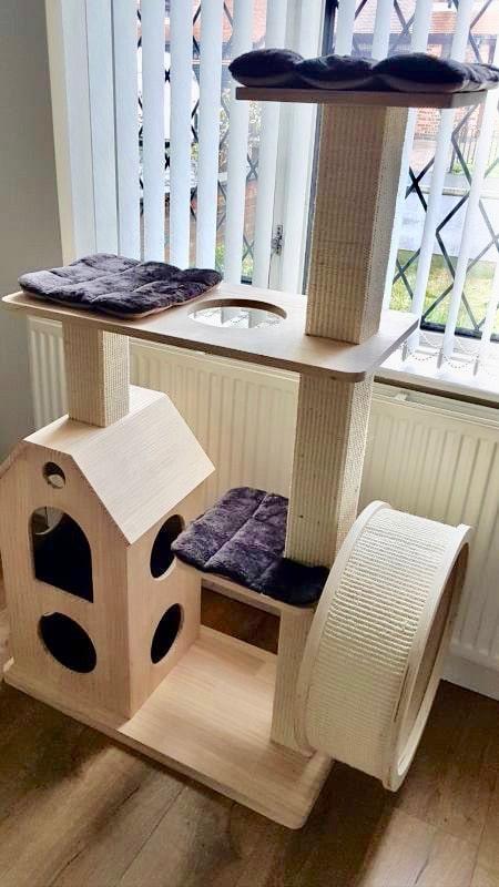 arbre chat maison design