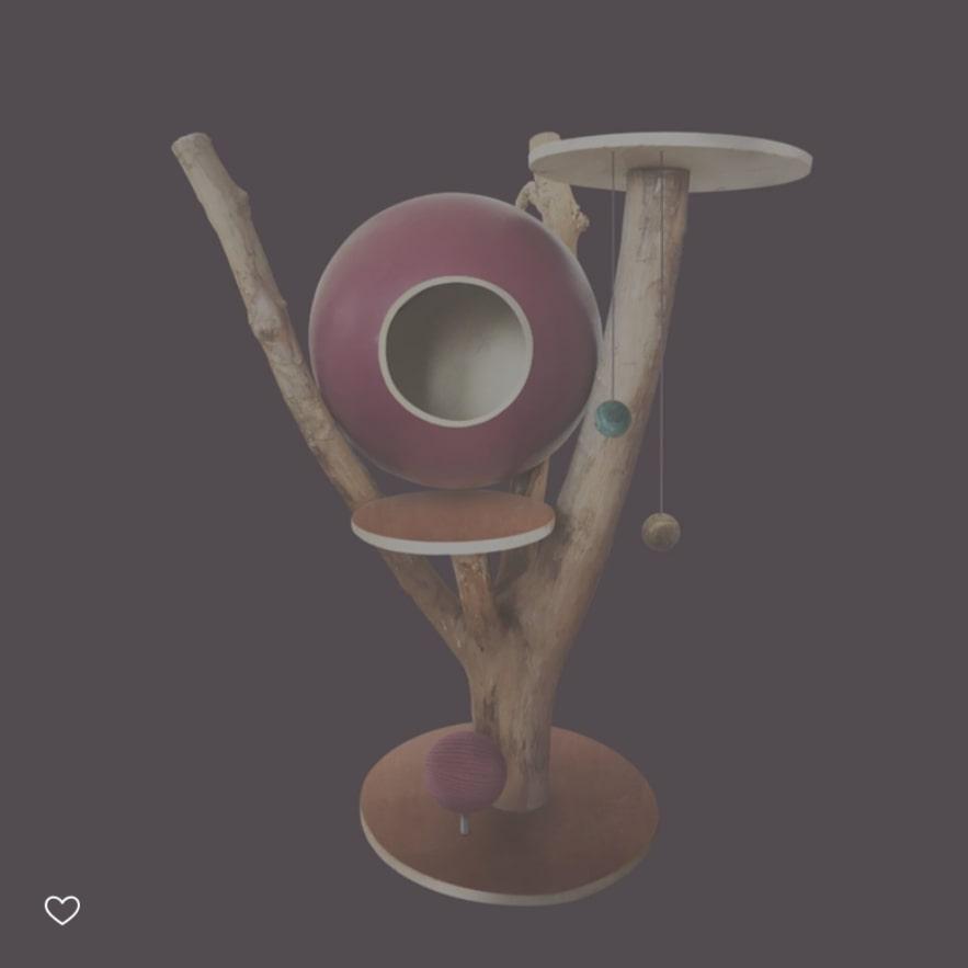 arbre-a-chat-tronc-globe