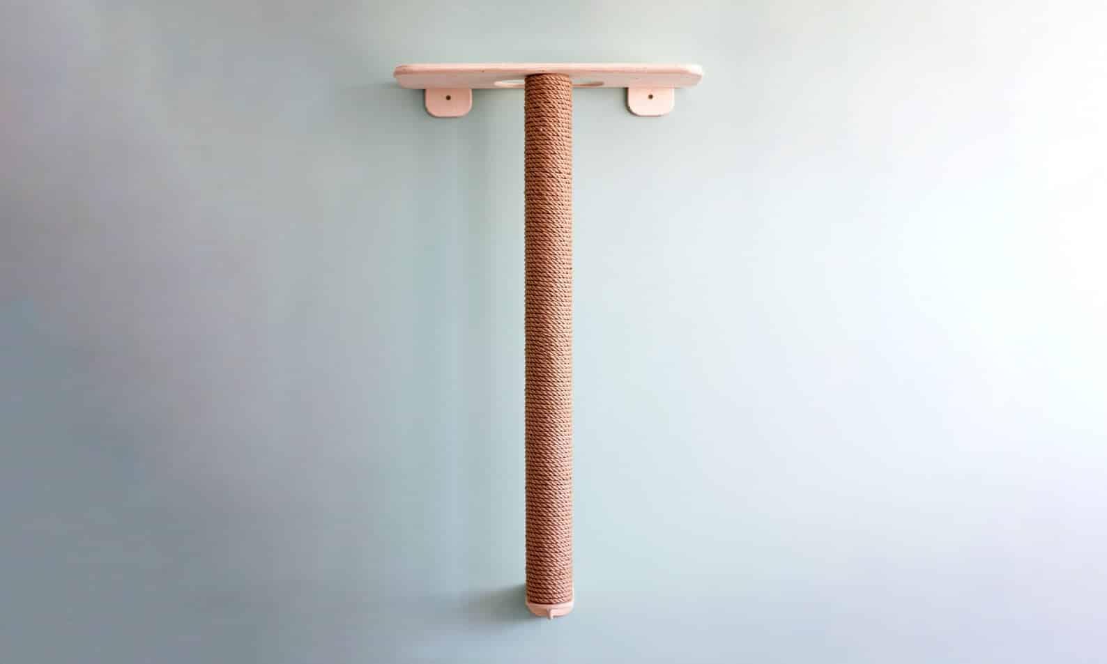 arbre a chat mural design plateforme tronc