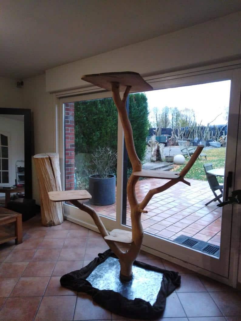 arbre a chat geant design envergure