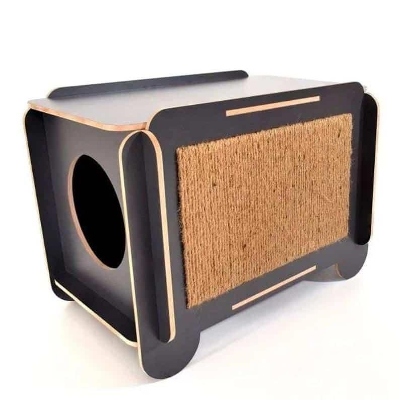 cube panneau griffoir