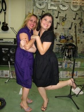 Eu e Carla Acustico