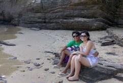 Buzios Sentados Areia