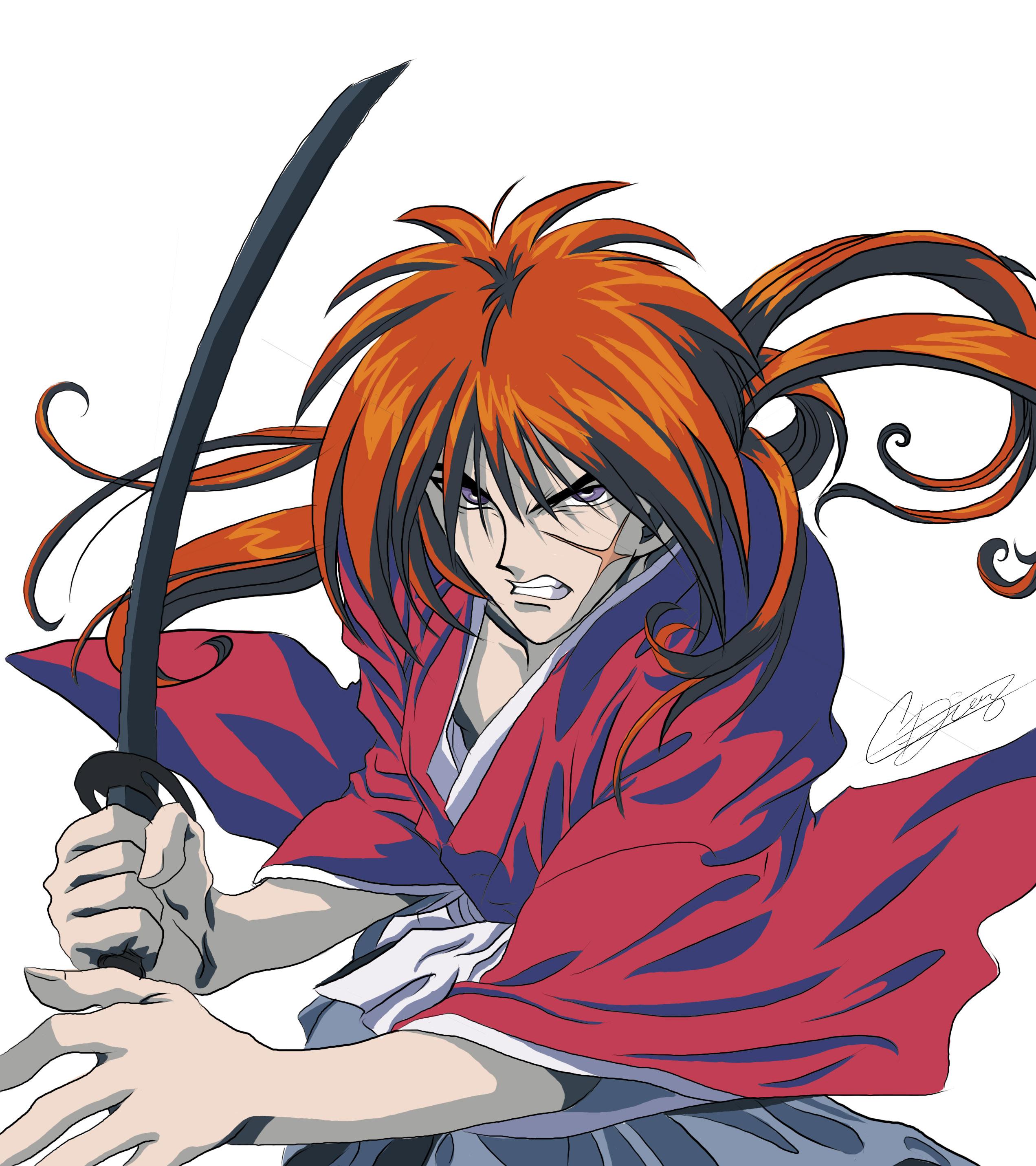 Wallpaper SamuraiX Kenshin Himura  chemistry for peace not for war