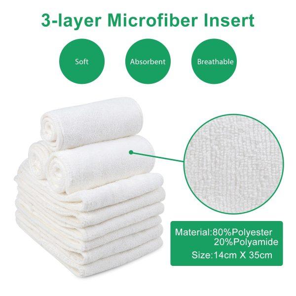 U Pick ALVA Baby 2019 Most Popular Digital Position Baby Cloth Diaper with Microfiber Insert YD 22