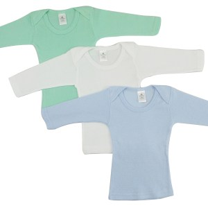 Bambini Boys Pastel Variety Long Sleeve Lap T-shirts