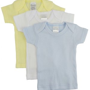 Bambini Boys Pastel Variety Short Sleeve Lap T-shirts - 3 Pack