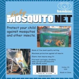 Bambini Play Pen & Stroller Mosquito Net
