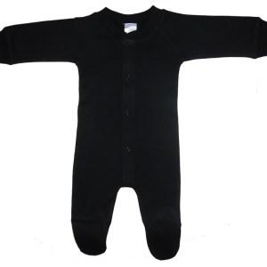 Bambini Black Interlock Sleep & Play